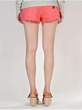 Roxy BREAKIN CROCHET MKL0 dámské riflové kraťasy - růžová