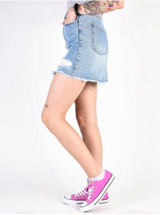 Billabong TAKE RISK BLUE FADE krátká sukně - modrá