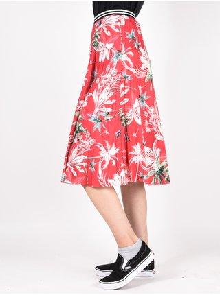 Femi Stories KOSI TRP dlouhá letní sukně - červená