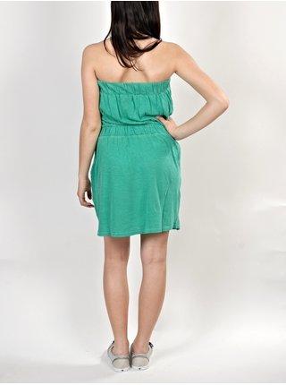 Element JACKIE               SHAKING GREEN krátké letní šaty - tyrkysová