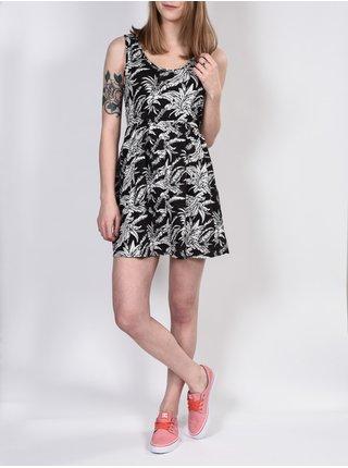 Element HEAVENLY TROPIC krátké letní šaty - černá