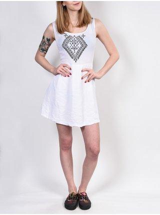 Element OSLO white krátké letní šaty - bílá
