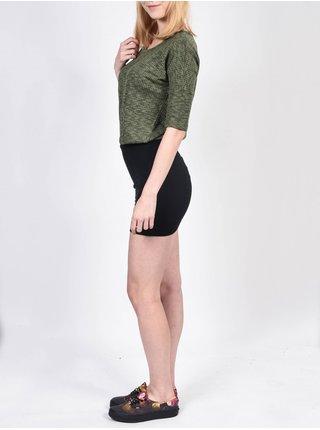 Element EMILY SURPLUS krátké letní šaty - černá