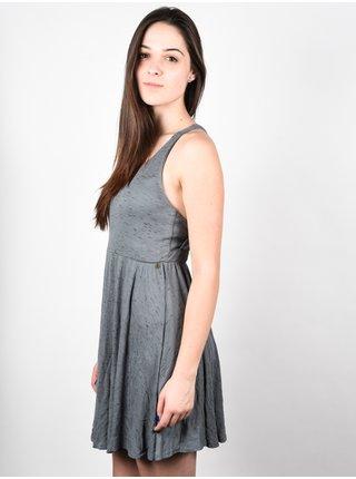 Element RANIA GREY krátké letní šaty - šedá