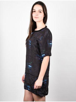 RVCA SYLVE black krátké letní šaty - černá