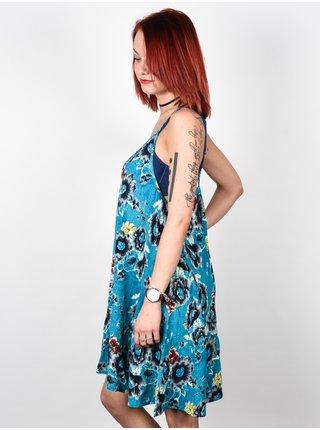 Billabong COCONUT COSTA BLUE krátké letní šaty - modrá