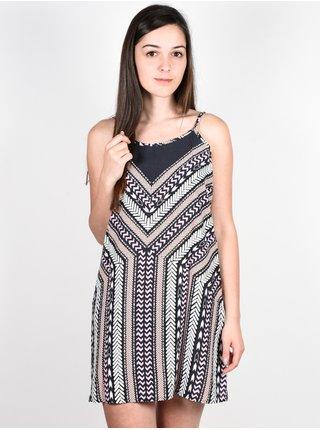Rip Curl ECLIPSE  black krátké letní šaty - černá