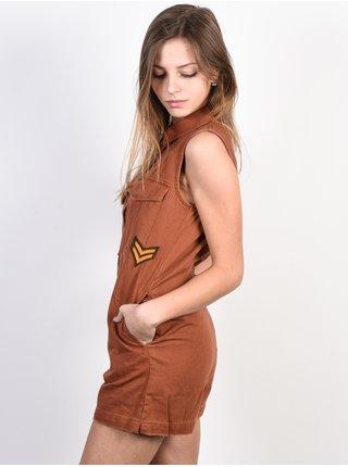 Element TOM BROWN PATINA krátké letní šaty - hnědá