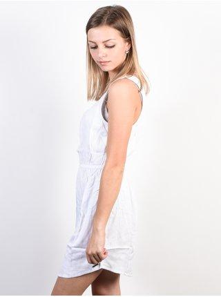 Element SKY white krátké letní šaty - bílá