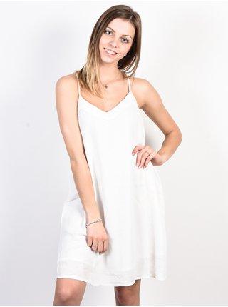 Roxy OFF WE GO Marshmallow krátké letní šaty - bílá
