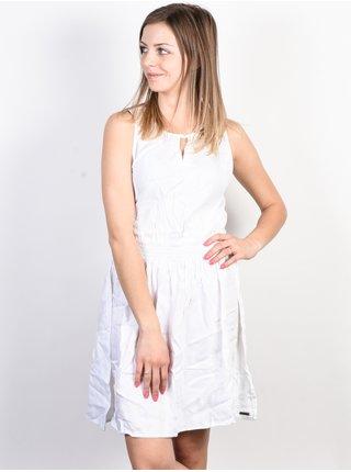 Element SOMEONE OPTIC WHITE krátké letní šaty - bílá