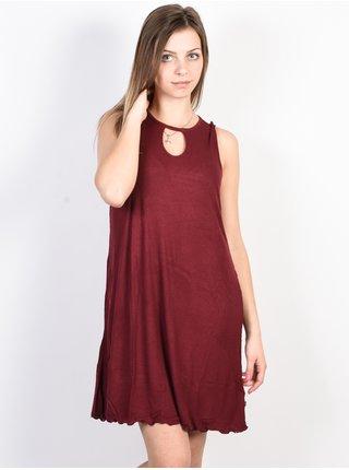 Fox Bay Meadow CRANBERRY krátké letní šaty