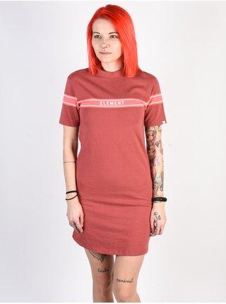 Element JOJO peach krátké letní šaty - červená
