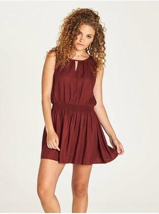 Element SOMEONE port krátké letní šaty - červená