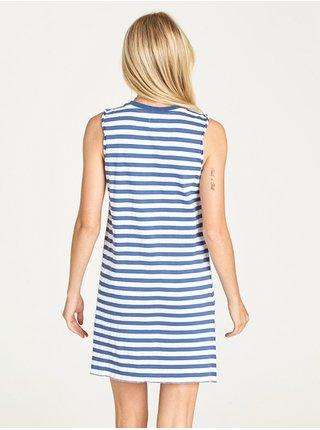 Element PLEASE blueberry krátké letní šaty - modrá
