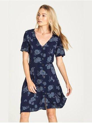 Element SARAH indigo krátké letní šaty - modrá