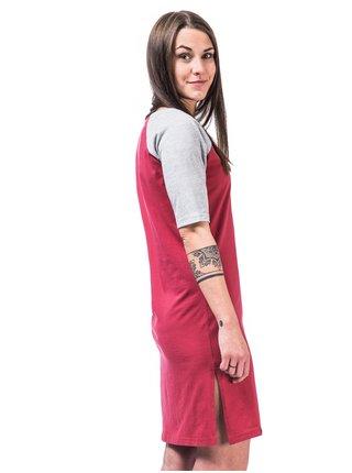 Horsefeathers IVET garnet rose krátké letní šaty - červená