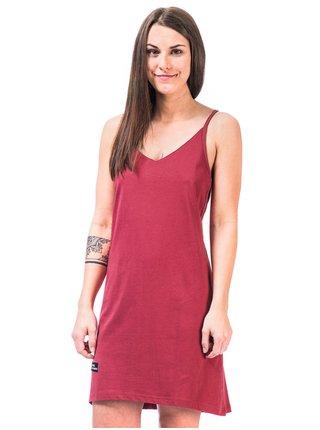 Horsefeathers ASTRID garnet rose krátké letní šaty - červená