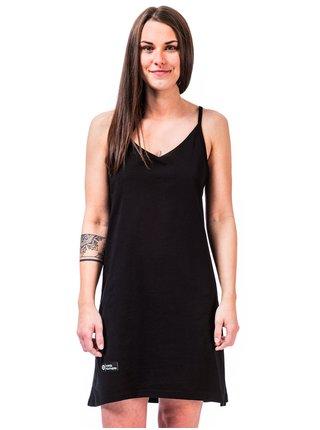 Horsefeathers ASTRID black krátké letní šaty - černá