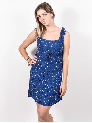 Rip Curl BEACH NOMADIC SUN PACIFIC BLUE krátké letní šaty - modrá