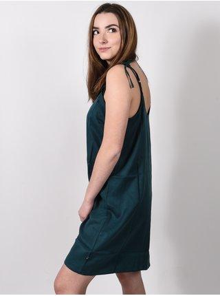 Fox Any Sunday DARK GREEN krátké letní šaty - zelená