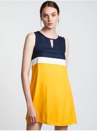 Element SOMEWHERE GOLD krátké letní šaty