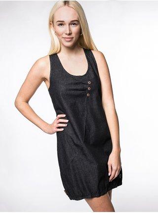 Alife and Kickin CAMERONAK MOONLESS krátké letní šaty - černá