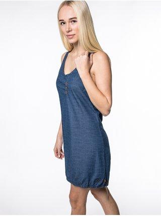 Alife and Kickin CAMERONAK D dark denim krátké letní šaty - modrá