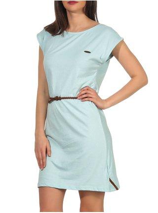 Alife and Kickin ELLIAK ice krátké letní šaty - světle modrá