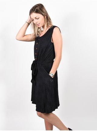 Alife and Kickin SCARLETTAK MOONLESS krátké letní šaty - černá