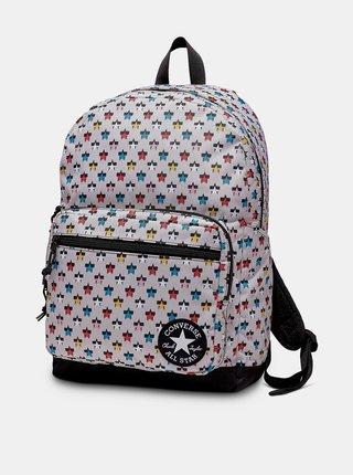Šedý vzorovaný batoh Converse