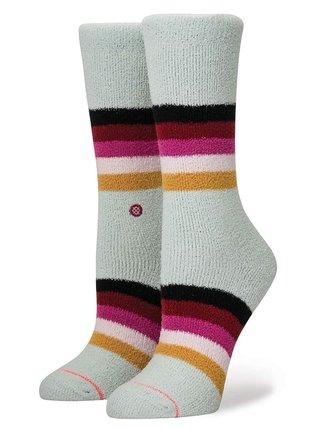 Stance ICE CAP blue dámské ponožky - béžová