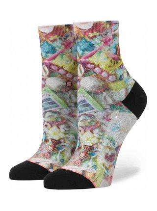 Stance KAWAII MULTI dámské ponožky - růžová