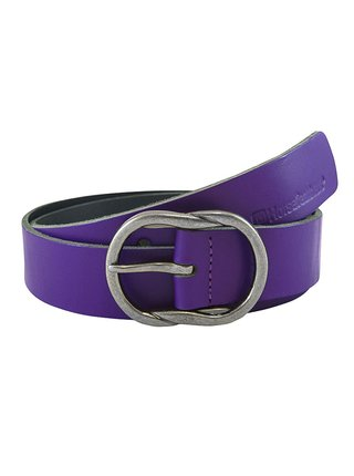 Horsefeathers BELLE violet dámský kožený pásek - fialová