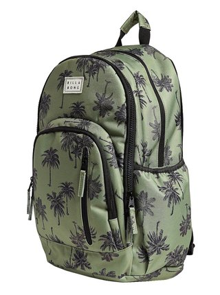 Billabong ROADIE EARTH GREEN batoh do školy - zelená