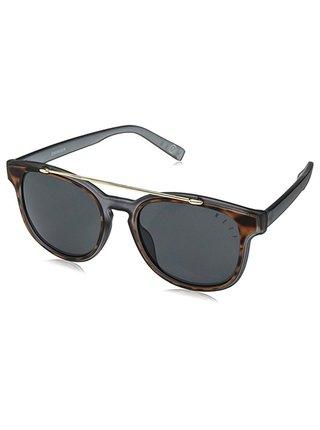 Neff SWINGER BLACK ICE/TORT/GOLD sluneční brýle pilotky - černá