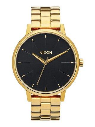 Nixon KENSINGTON ALLGOLDBLACKSUNRAY analogové sportovní hodinky