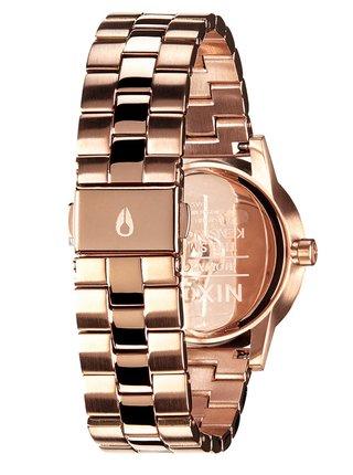 Nixon SMALL KENSINGTON ALLROSEGOLD analogové hodinky - rosegold