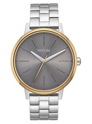 Nixon KENSINGTON SILVERGOLDGRAY analogové sportovní hodinky