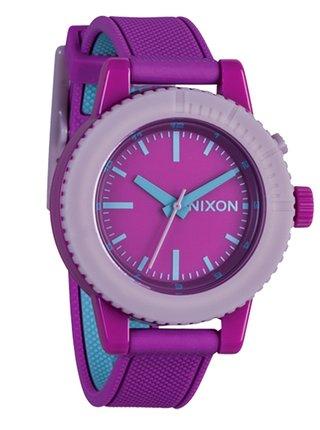 Nixon GOGO RHODO analogové sportovní hodinky - fialová