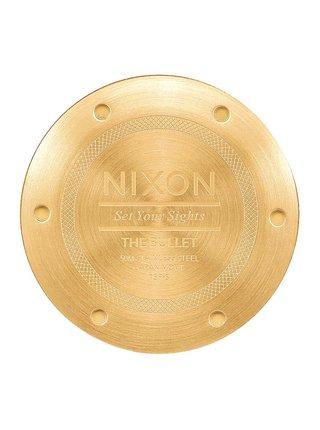 Nixon BULLET ALLLIGHTGOLDTAUPE analogové sportovní hodinky