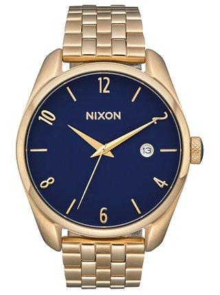Nixon BULLET LIGHTGOLDNAVY analogové sportovní hodinky