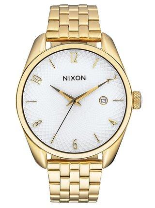 Nixon BULLET GOLDWHITE analogové sportovní hodinky