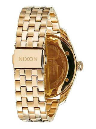 Nixon BULLET ALLGOLD analogové hodinky - zlatá barva