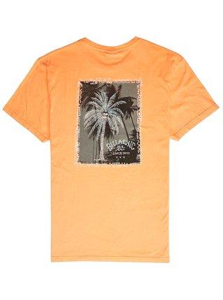 Billabong GET BACK CANTALOUPE dětské triko s krátkým rukávem - oranžová