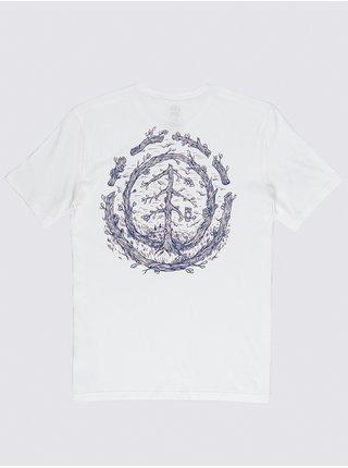 Element TOO LATE LOGO off white dětské triko s krátkým rukávem - bílá