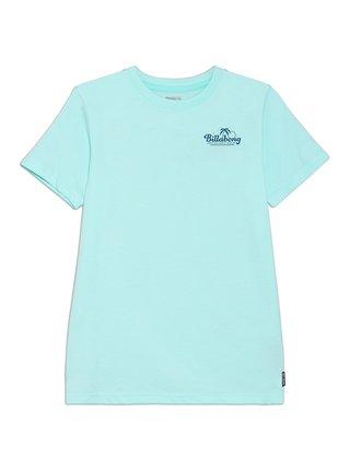 Billabong PALM SPIN SPEARMINT dětské triko s krátkým rukávem - modrá