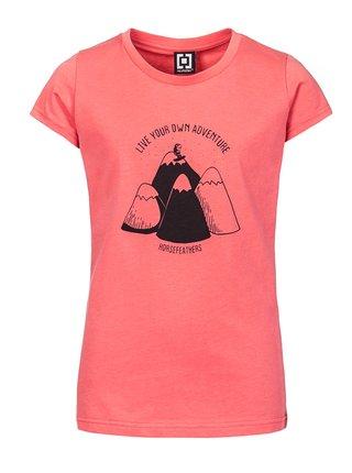 Horsefeathers SCARLET sugar dětské triko s krátkým rukávem - růžová