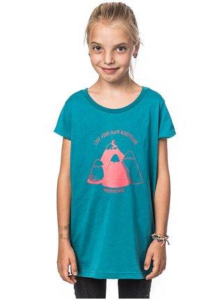 Horsefeathers SCARLET harbor blue dětské triko s krátkým rukávem - modrá