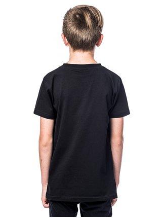 Horsefeathers CLARK black dětské triko s krátkým rukávem - černá